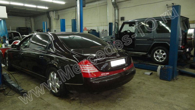 sdelat to mercedes maybach w240 57 62