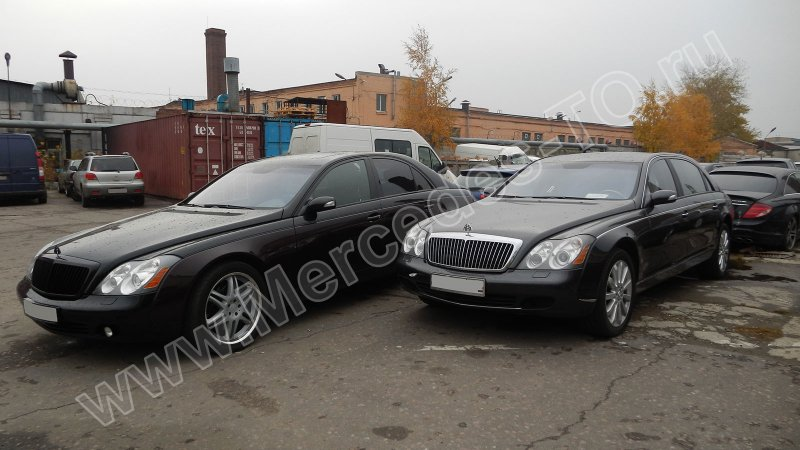 sdelat to mercedes maybach 57 62
