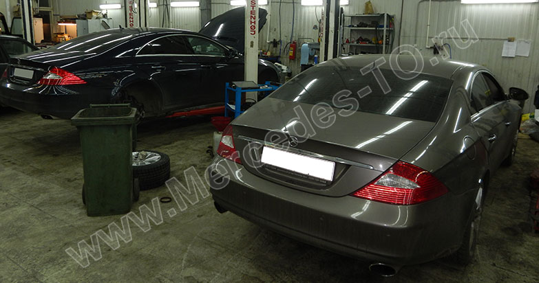 to mercedes cls w219