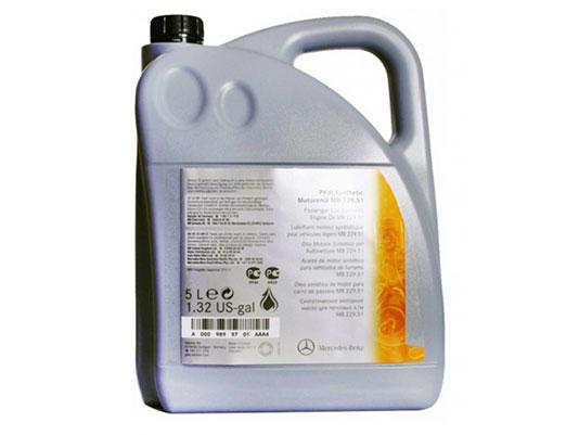 масло для дизельных мерседес